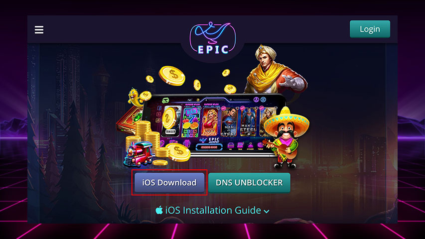 Epic-slot-Mulan-login