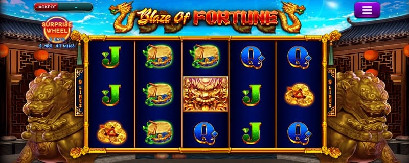 EPIC BLAZE OF FORTUNE