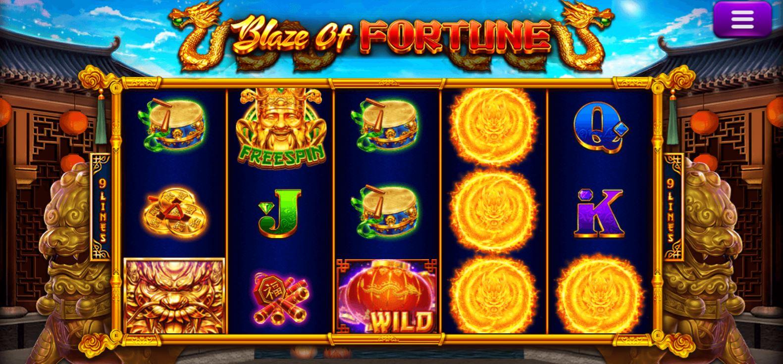 Epicwin แนะนำเกมสล็อต 2021 | Blaze of Fortune โปรโมชั่น Free