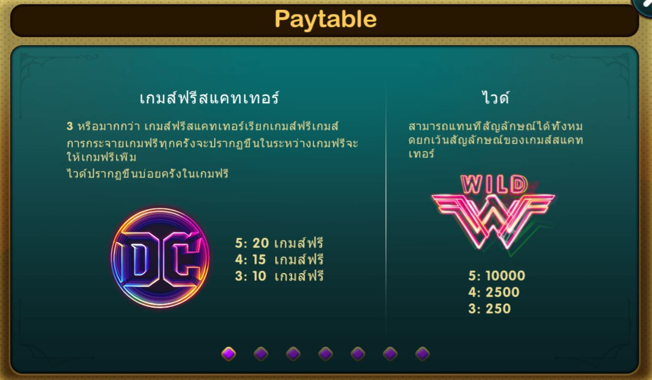 Epicwin-Wonder Woman 84-เกมส์