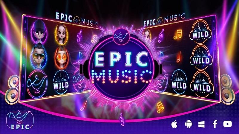 Epicwin 2021 | ทดลองเล่น Epic music สล็อตออนไลน์มือถือ Free